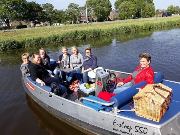 fluisterboot huren eilandspolder dagje de rijp